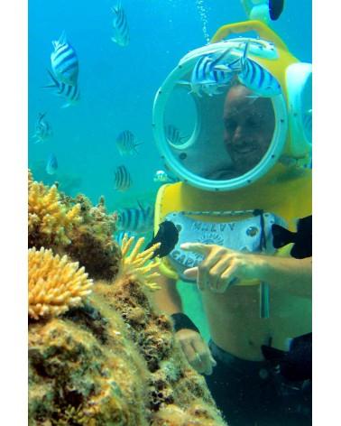 Introductory helmet dive Aqua Safari Bora Bora